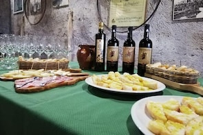 Wine Tasting And Typical Products And Visit Of The Excavated Wine Cellar In...
