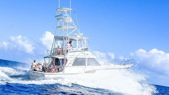 Antigua Deep Sea Fishing Trip