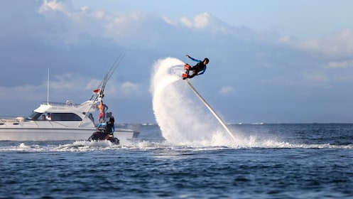 Person flyboarding in Bali