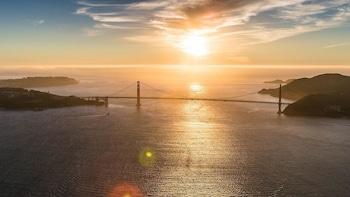 Sunset Golden Gate Sky Tour