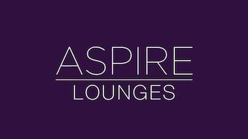 Aspire Lounge von Servisair am Flughafen London Luton (LTN)