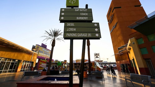 outlet mall directory in Las Vegas