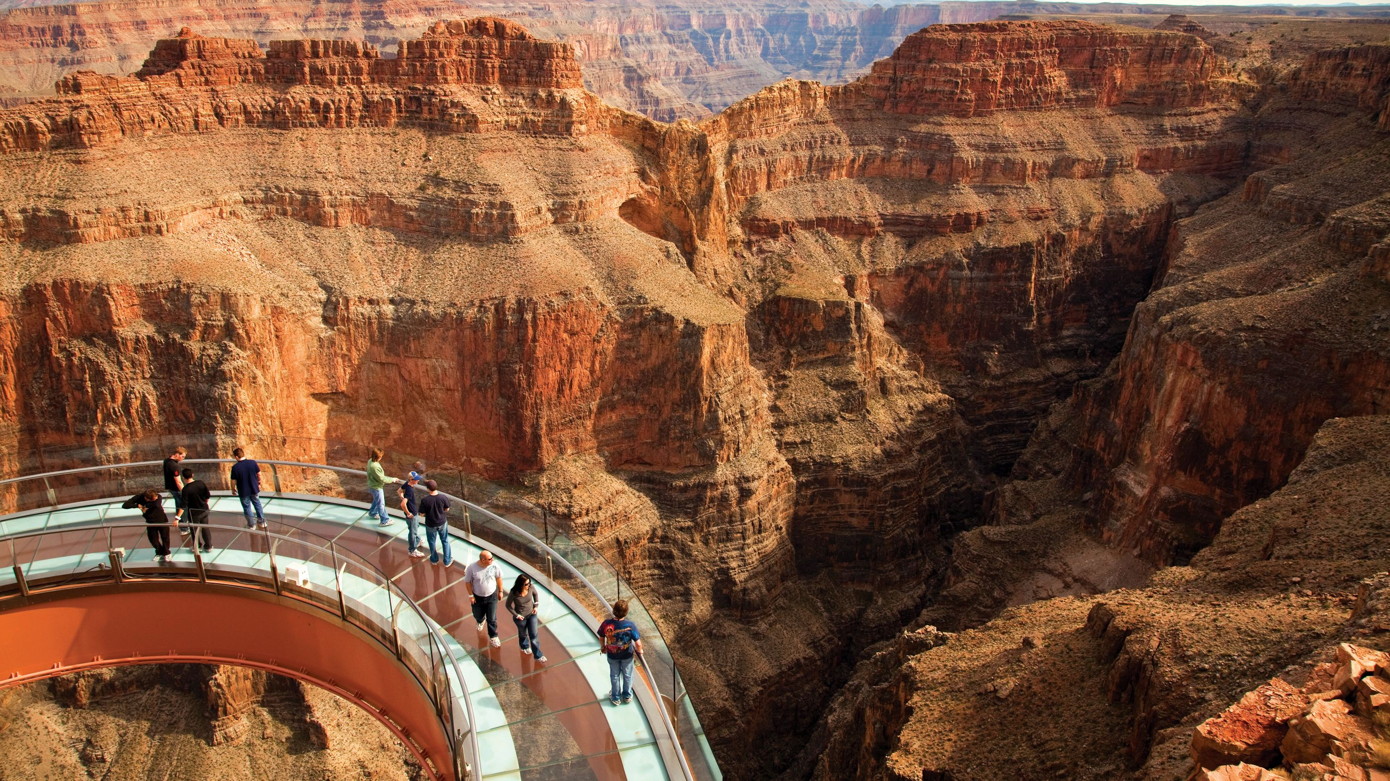 Helikoptertour door de Grand Canyon met VIP-toegang tot de Skywalk