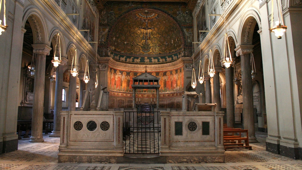 Show item 5 of 10. Basilica of San Clemente al Laterano in Rome, Italy