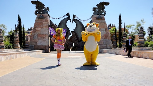 Characters at Rainbow MagicLand in Rome