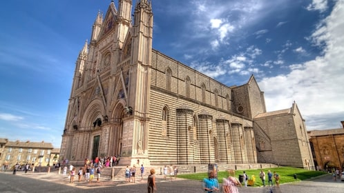 Building in Orvieto, Italy