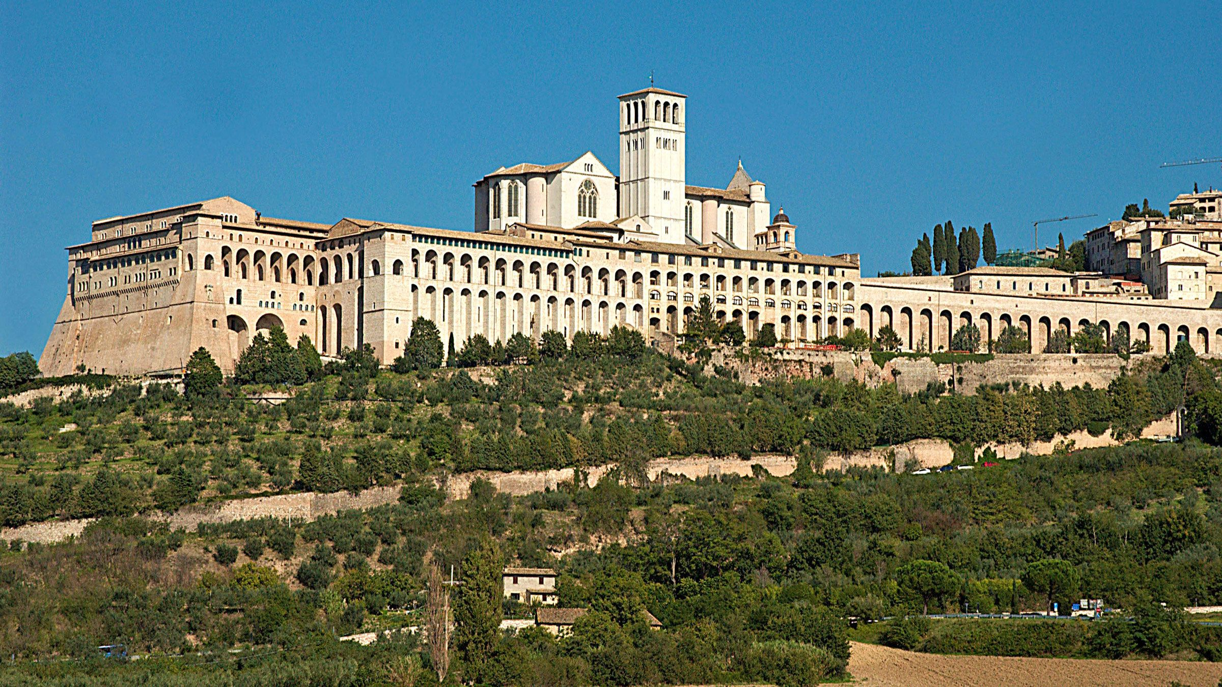 Beautiful view of Assisi