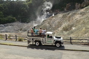 Soufriere Volcano Jeep Safari