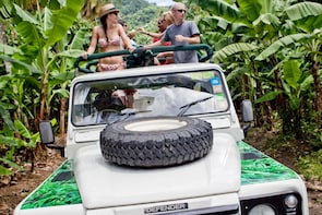 Soufriere Volcano Jeep Safari with Lunch