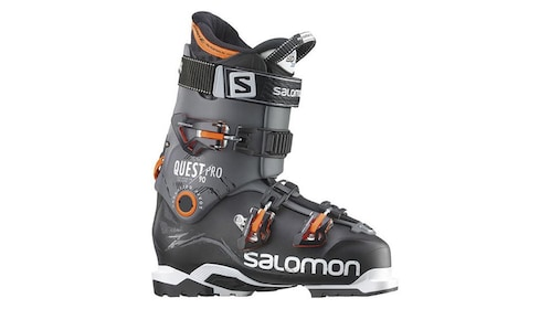 Ski boots in child and adult sizes are available to rent