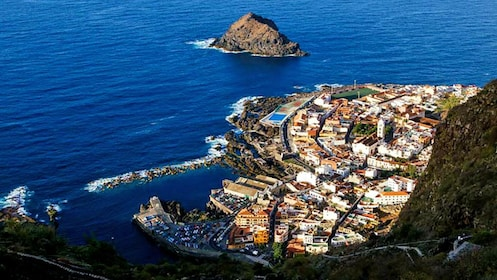 Coastal town near Teide National Park