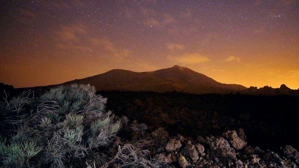Foto 3 van 5. Horizon at sunset in Tenerife