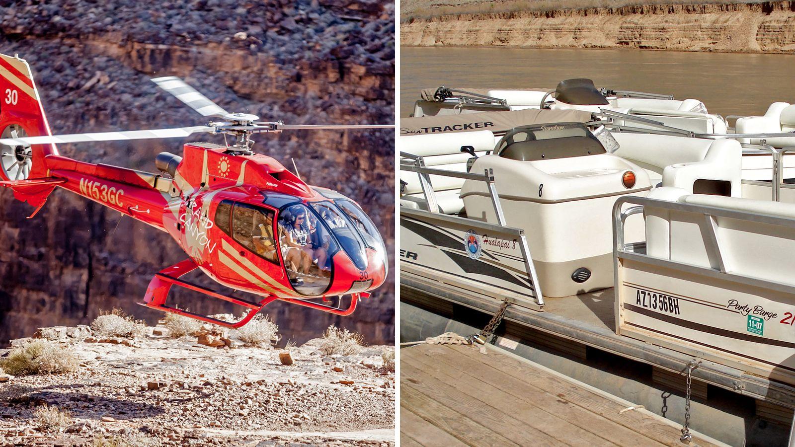 Grand Canyon Flight & Colorado River Cruise