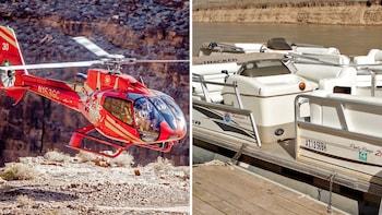 Grand Canyon Flight, Skywalk & Colorado River Cruise
