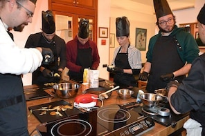 Private cooking lesson in the countryside of Rome