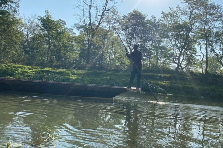 Show item 5 of 8. Canoeing and Nature Walk in Chitwan National Park