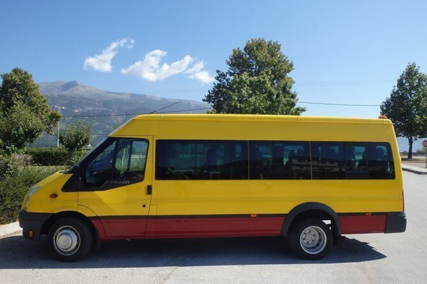 Show item 1 of 4. Ioannina Transfer