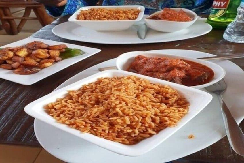 Show item 2 of 6. Lagos Cuisine Tour 4_RAG