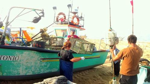 Fishing boat in Porto