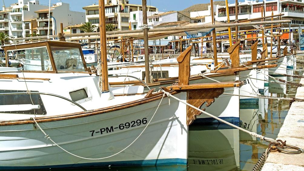 Show item 2 of 6. Sailboats at Dock