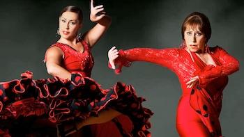 Carolina Lugo & Carole Acuna's Ballet Flamenco at Peña Pachamama