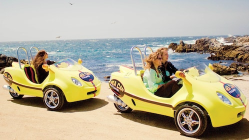 Two sea cars on tour