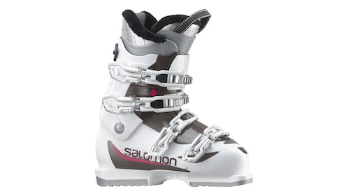 Ski boots for kids and adults are available to rent