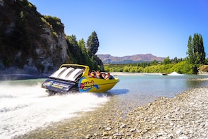 60 Minute Jet Boat Ride on the Shotover and Kawarau Rivers