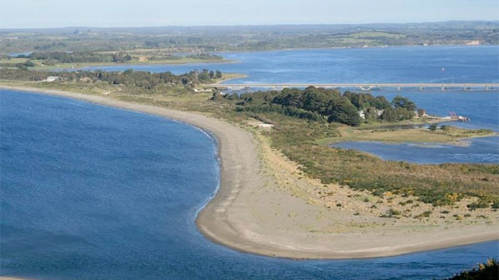 Show item 2 of 4. Aerial view of Chiloé Island & Beaches in Puerto Varas