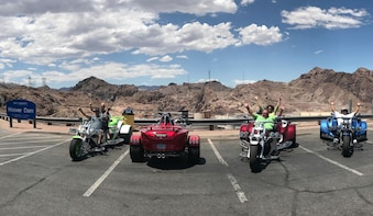 Hoover Dam Tour on a Rewaco Luxury Trike