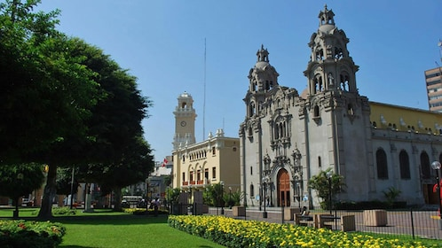 Government palace in Lima, Peru