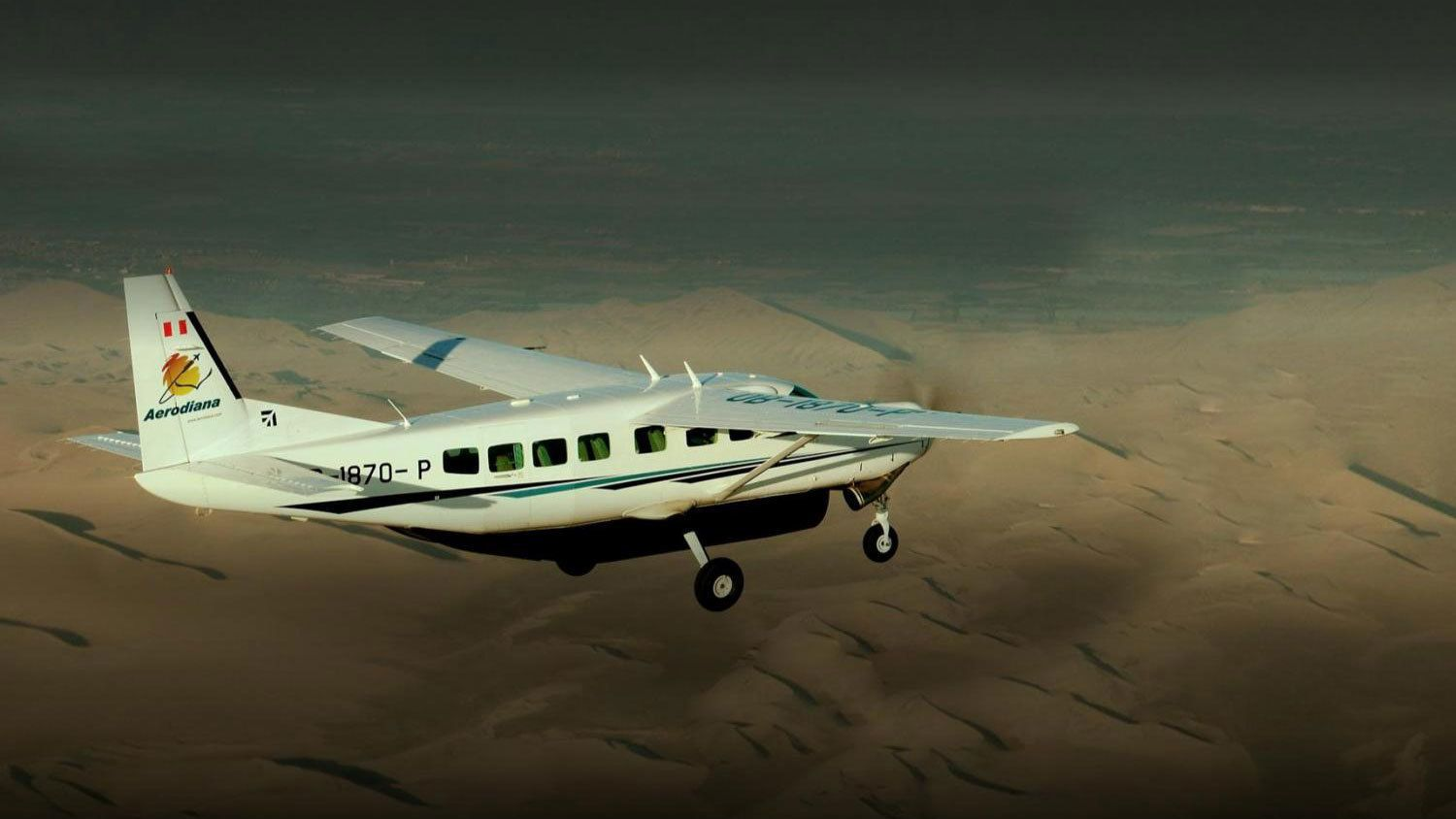Board a prop plane to experience a unique view of the Nazca Lines
