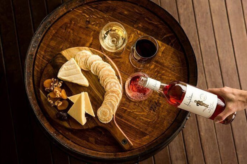 Audrey Wilkinson Vineyard: Fromage and Fortified Wine Experience