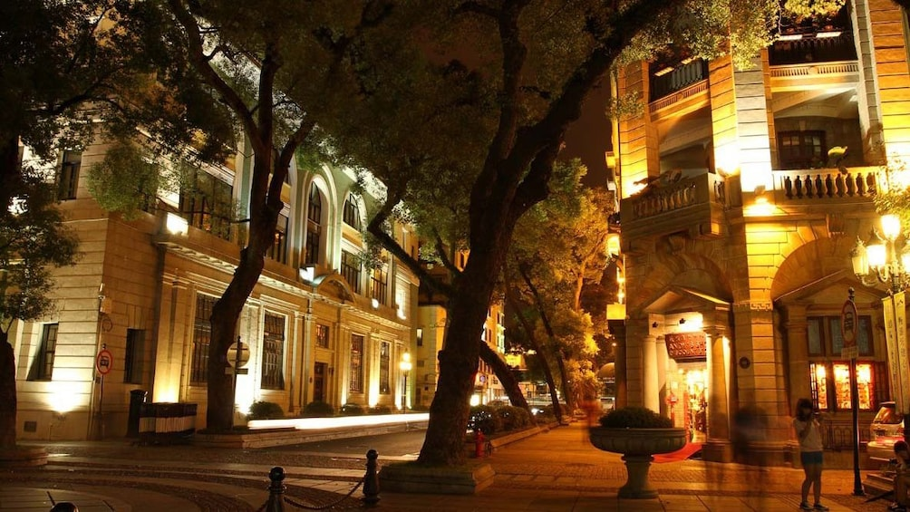 Show item 3 of 5. city street at night in Guangzhou