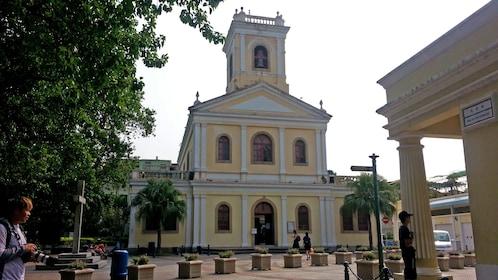 Yellow church in Cotai