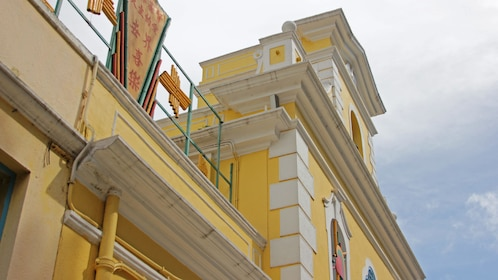 Colorful building in Cotai