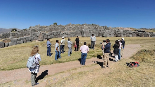 Explore the archaeological park of Sacsayhuaman to see the ancient Incan ruins