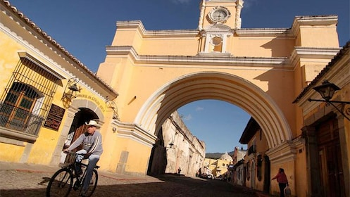 The well-preserved Spanish Baroque in Antigua Guatemala