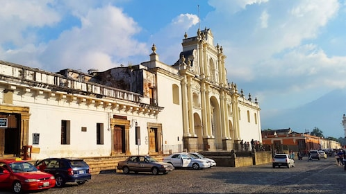 View of cathedral of San Jose in Guatemala