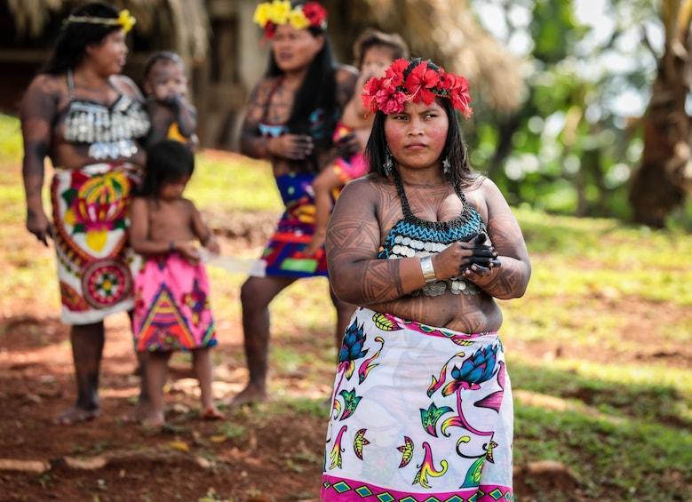 Show item 3 of 8. Embera Indigenous Village