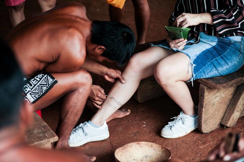 Show item 8 of 8. Embera Indigenous Village