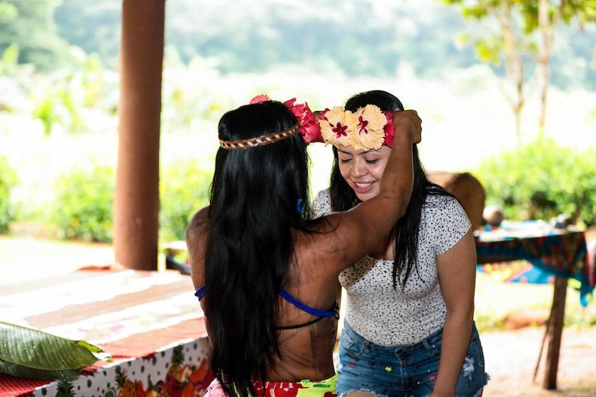 Show item 2 of 8. Embera Indigenous Village