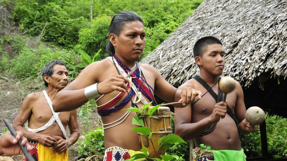 Show item 1 of 8. Immerse yourself into the native culture of the Embera people