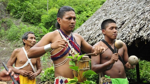 Immerse yourself into the native culture of the Embera people