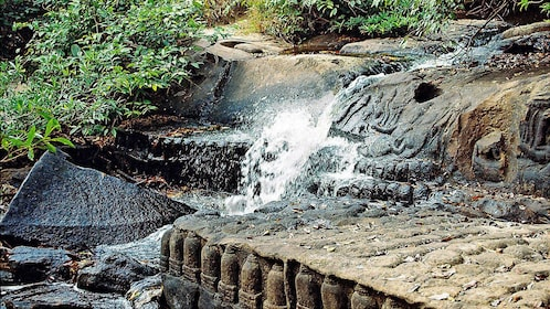 water way at temple in Siem Reap