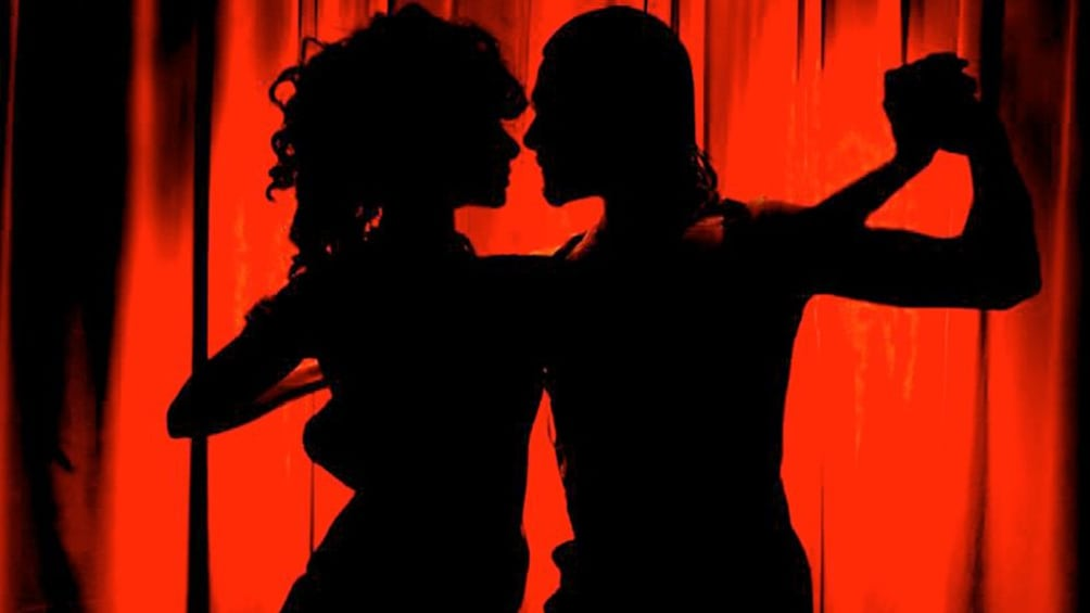Cargar ítem 1 de 5. Passionate dancers at the Rojo Tango Exclusive Dinner and Tango Show in  Buenos Aires