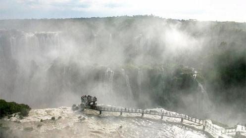 Stunning view of Iguazu Falls