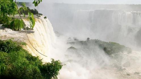 Breathtaking view of Iguazu Falls