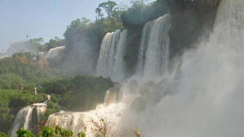 Day view of Iguazu Falls