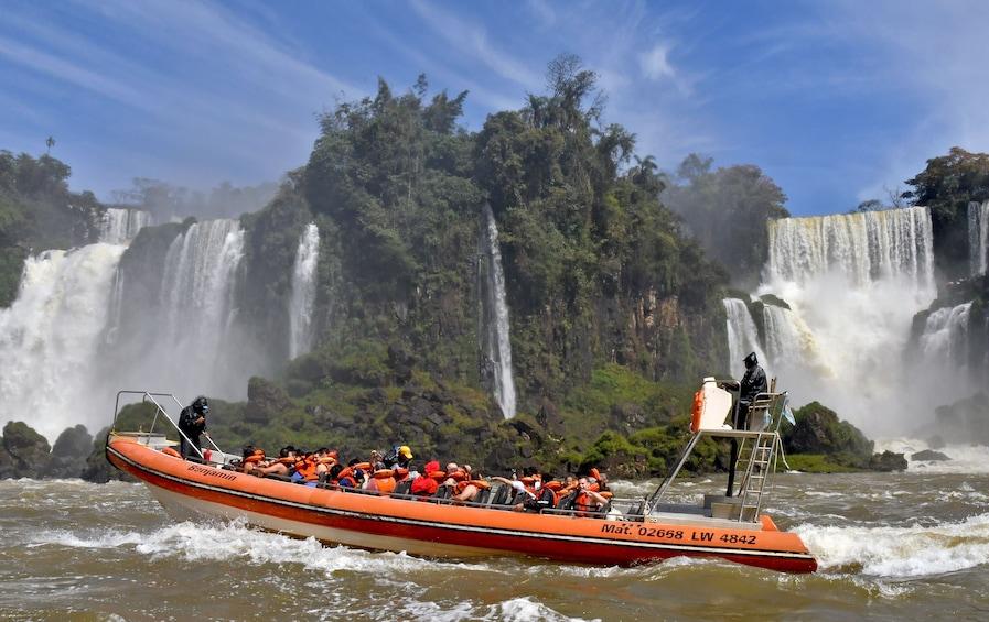 Cargar foto 1 de 8. Iguazu Day Tour with Boat Ride Under the Falls